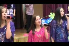 """Попурри """"Бременские музыканты"""", День открытых дверей в школе 996, 2012 год"""